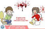 Đi cầu ra máu là bị gì Cà Mau?