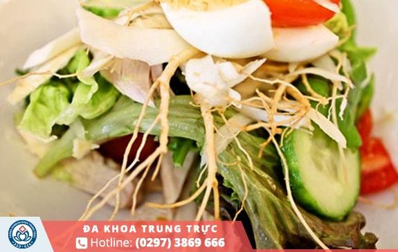 Một món salad đơn giản nhưng chứa nhiều khoáng chất bổ ích