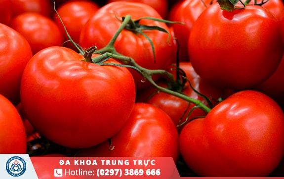 Chất lycopene có trong cà chua giúp tinh binh được bảo vệ an toàn