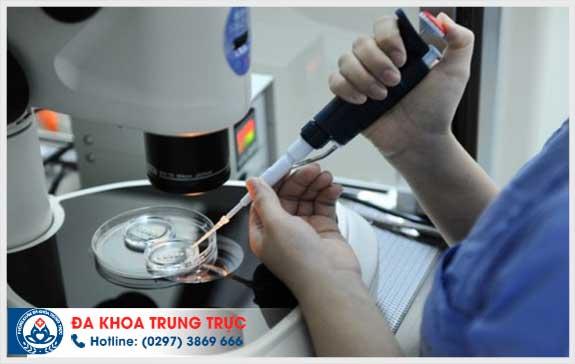 phuong phap dieu tri vo sinh nam gioi tai Da khoa Trung Truc