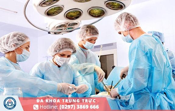 Tiểu phẫu cắt bao quy đầu chất lượng tại Phòng Khám Đa Khoa Trung Trực