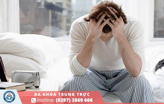 Áp lực căng thẳng khiến đàn ông dễ mắc phải xuất tinh sớm