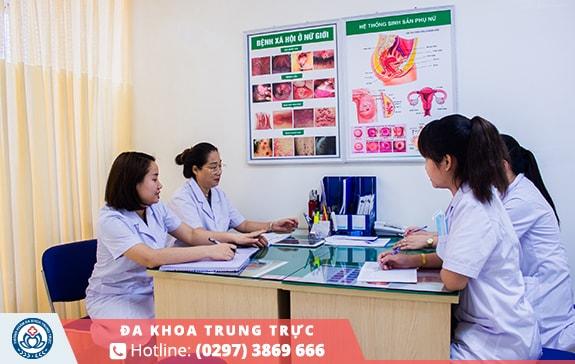 Điều trị bệnh phụ khoa an toàn và chất lượng tại Đa Khoa Trung Trực