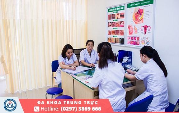 Điều trị bệnh phụ khoa uy tín tại Đa Khoa Trung Trực