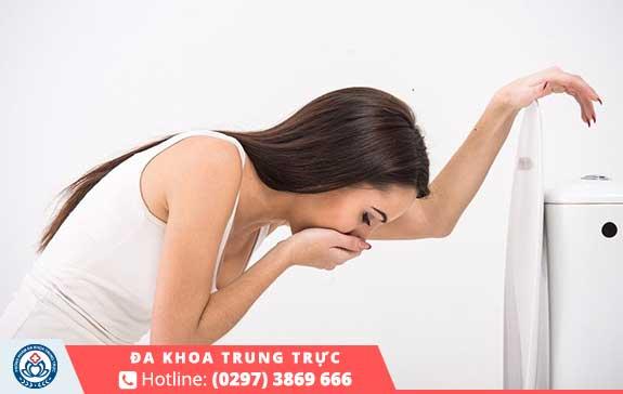 Nhận biết qua việc ốm nghén của thai phụ
