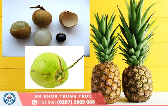 Thơm, dừa, nhãn là nhóm trái dễ gây sảy thai