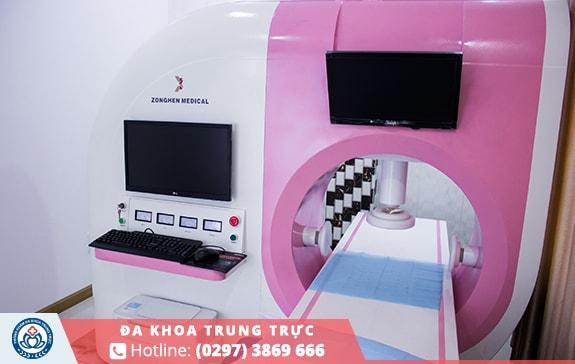 Trang thiết bị chữa trị bệnh trĩ hiện đại tại Đa Khoa Trung Trực Rạch Giá