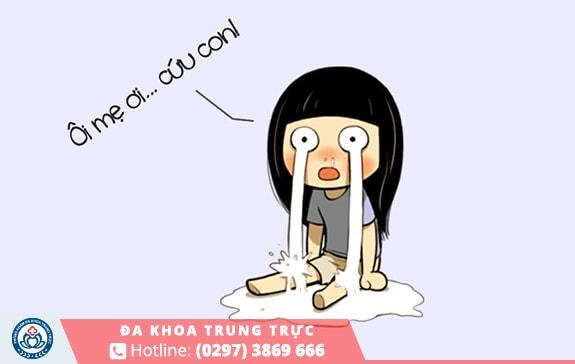 đau bụng kinh