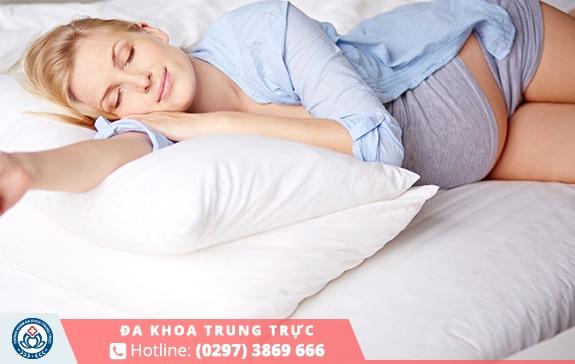 Quan hệ tình dục trong quá trình mang thai sẽ làmcho giấc ngủ thêm sâu giấc